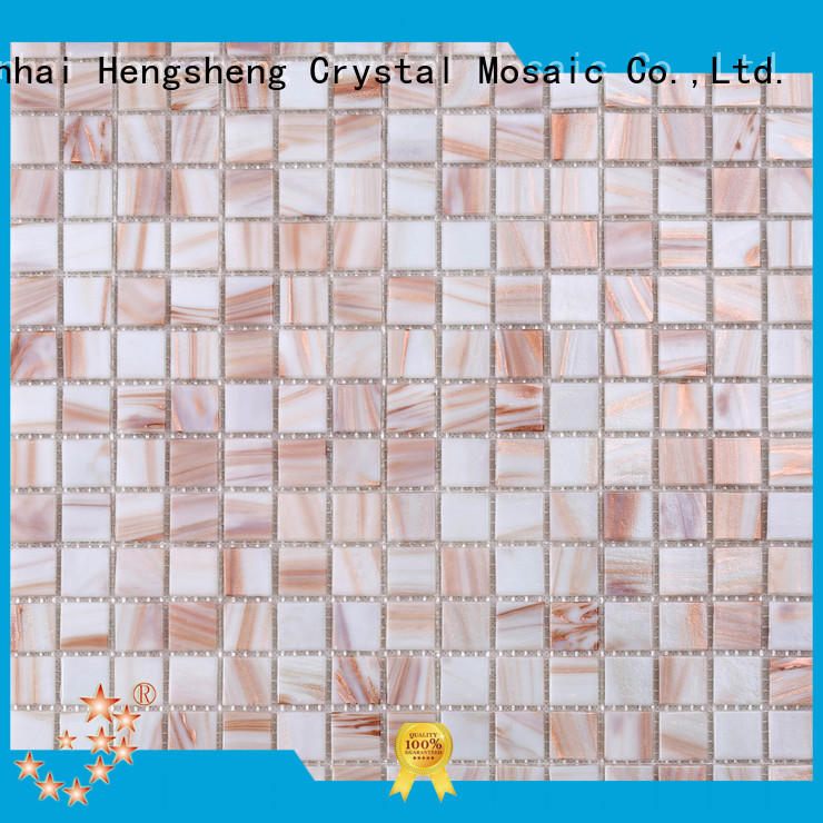 Heng Xing surround swimming pool tile suppliers blue for swimming pool