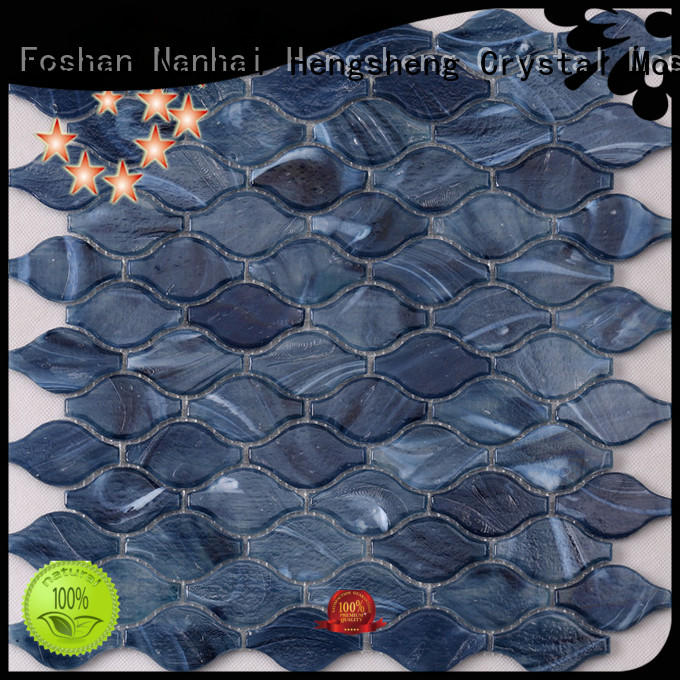 Heng Xing luxury pearl mosaic tiles supplier for bathroom