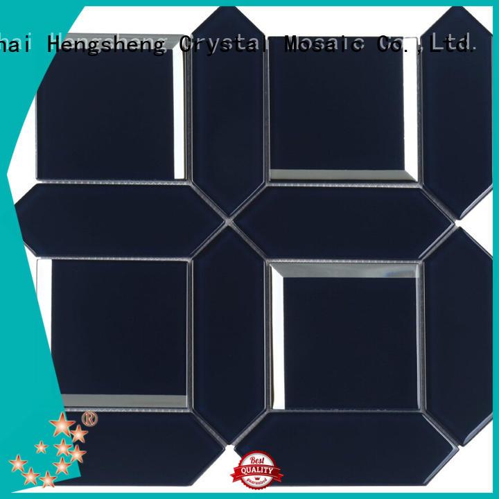 beveling white bevel tile factory price for kitchen