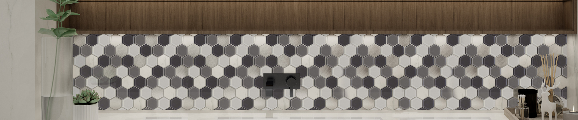 video-mosaic stone flooring metal for villa Heng Xing-Heng Xing-img