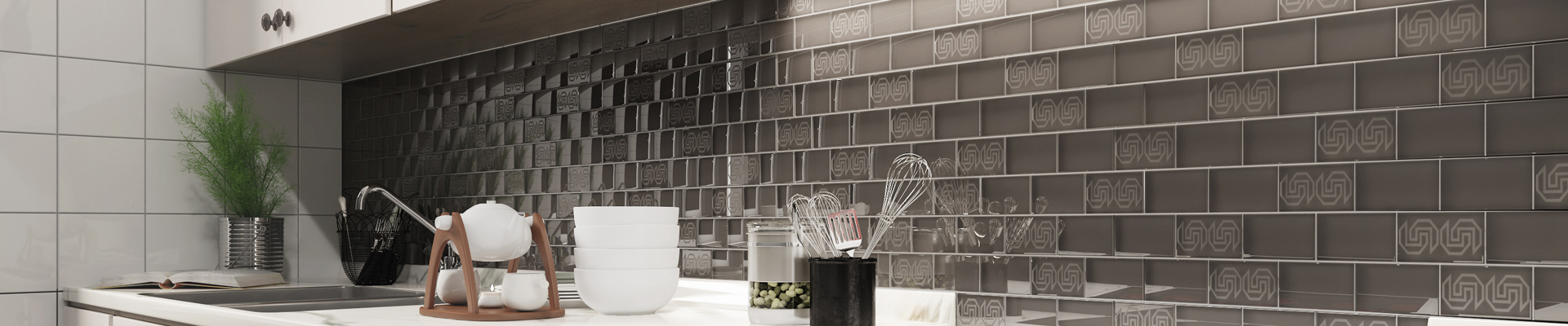 video-beveled glass mosaic tile sheets supplier for kitchen-Heng Xing-img