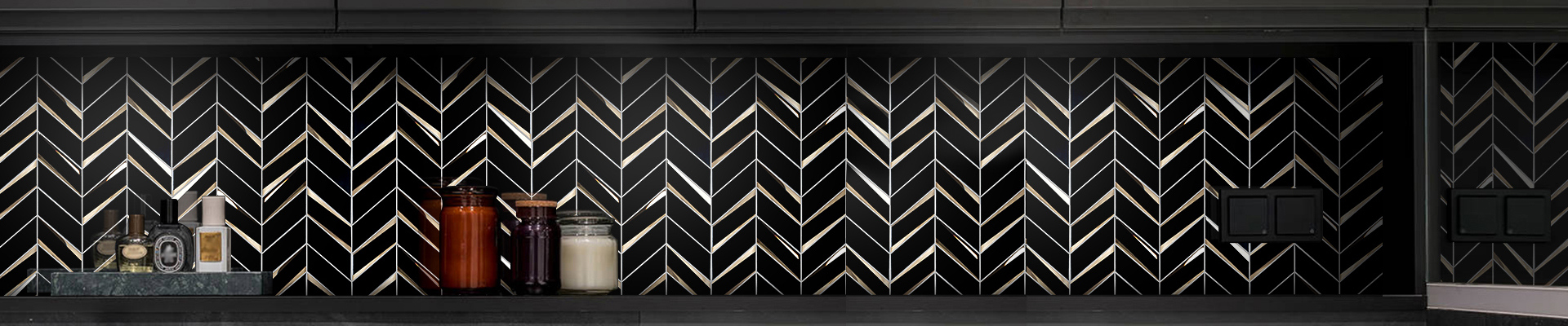 video-beveled glass wall tiles for kitchen factory price for villa-Heng Xing-img