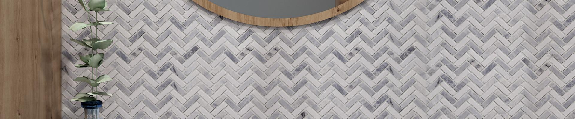 video-metal bevel edge tile factory price for living room Heng Xing-Heng Xing-img