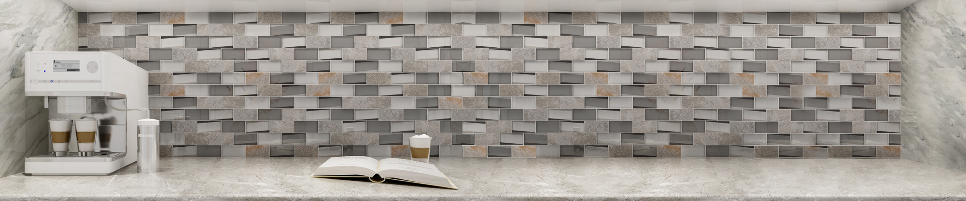 video-mixed sea glass tile wholesale for bathroom-Heng Xing-img