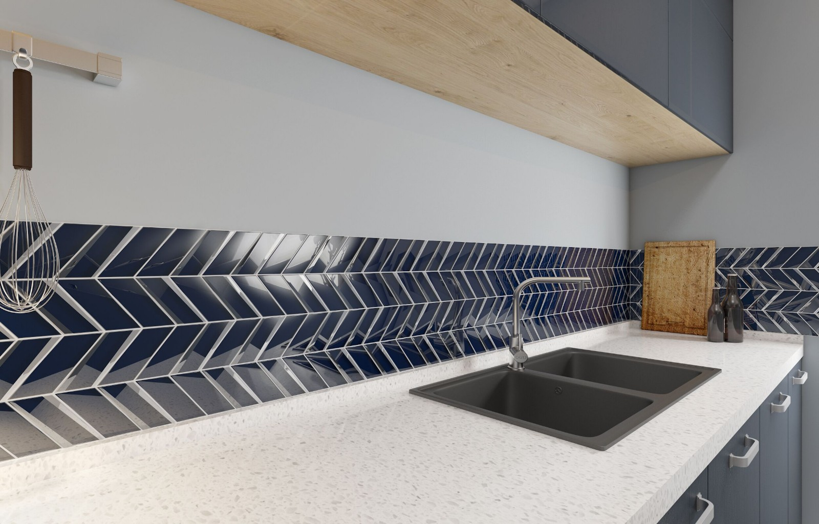 Heng Xing-Custom Kitchen Backsplash Tile Manufacturer, White Kitchen Backsplash |-5