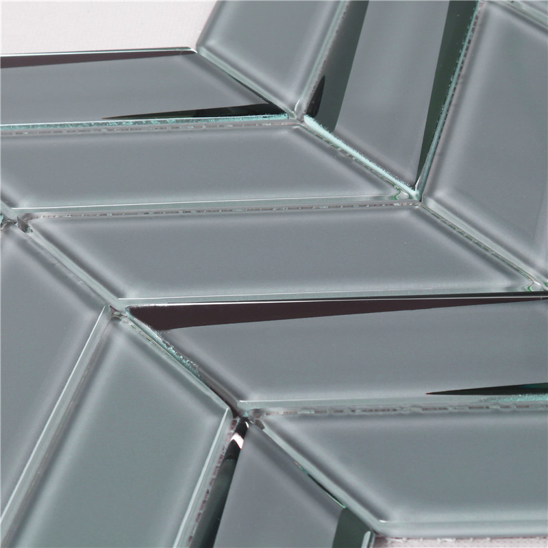 Heng Xing Wholesale blue iridescent glass tile factory price for hotel-3