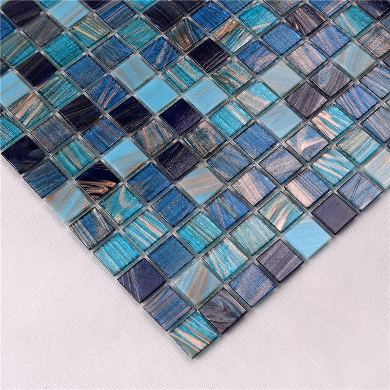 news-Heng Xing-Heng Xing swimming glass pool tile factory price for fountain-img