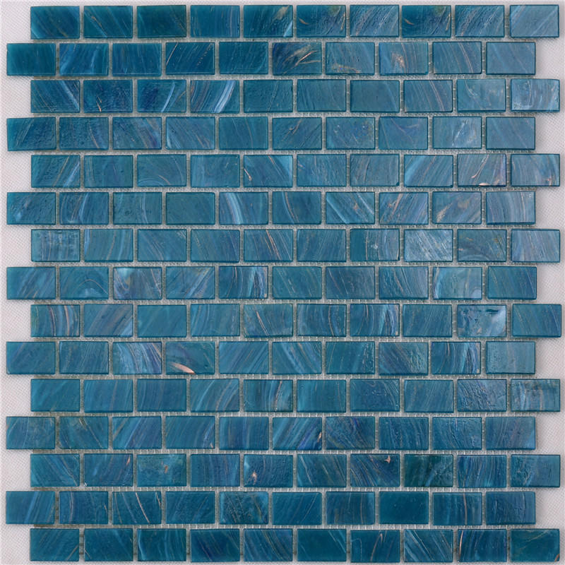 Blue Green Glass Tile Swimming Pool Mosaic Tile Suppliers NE748