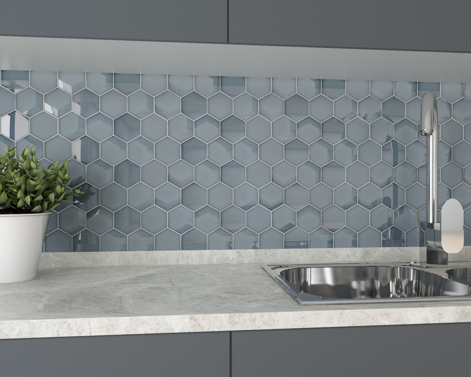Heng Xing Best 3d tile factory for kitchen-6