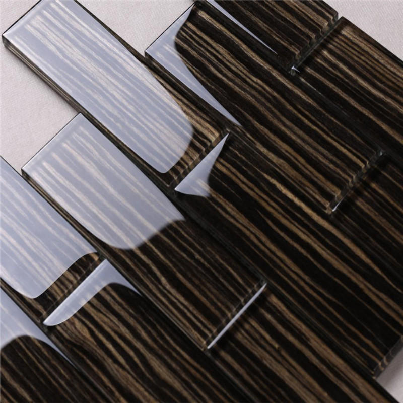 Heng Xing 3x3 mosaic glass wholesale for living room