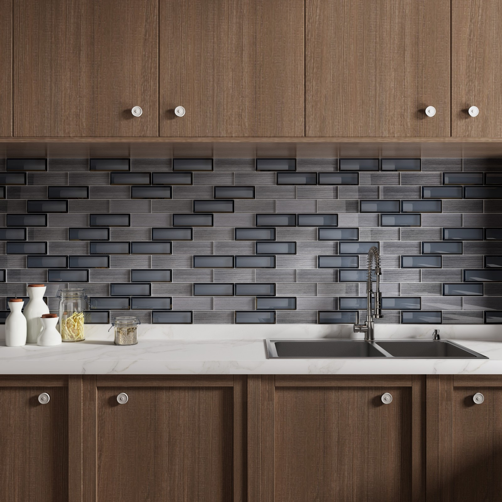 Heng Xing-Kitchen Backsplash Supplier, Glass Mosaic Tile Sheets | Heng Xing-5