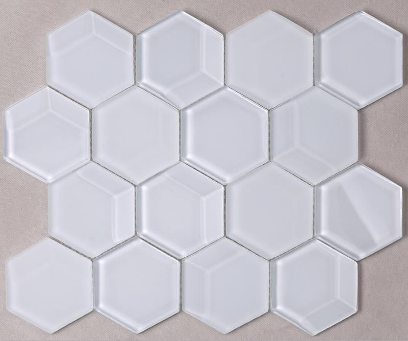 Heng Xing beveled arabesque tile backsplash manufacturers for kitchen