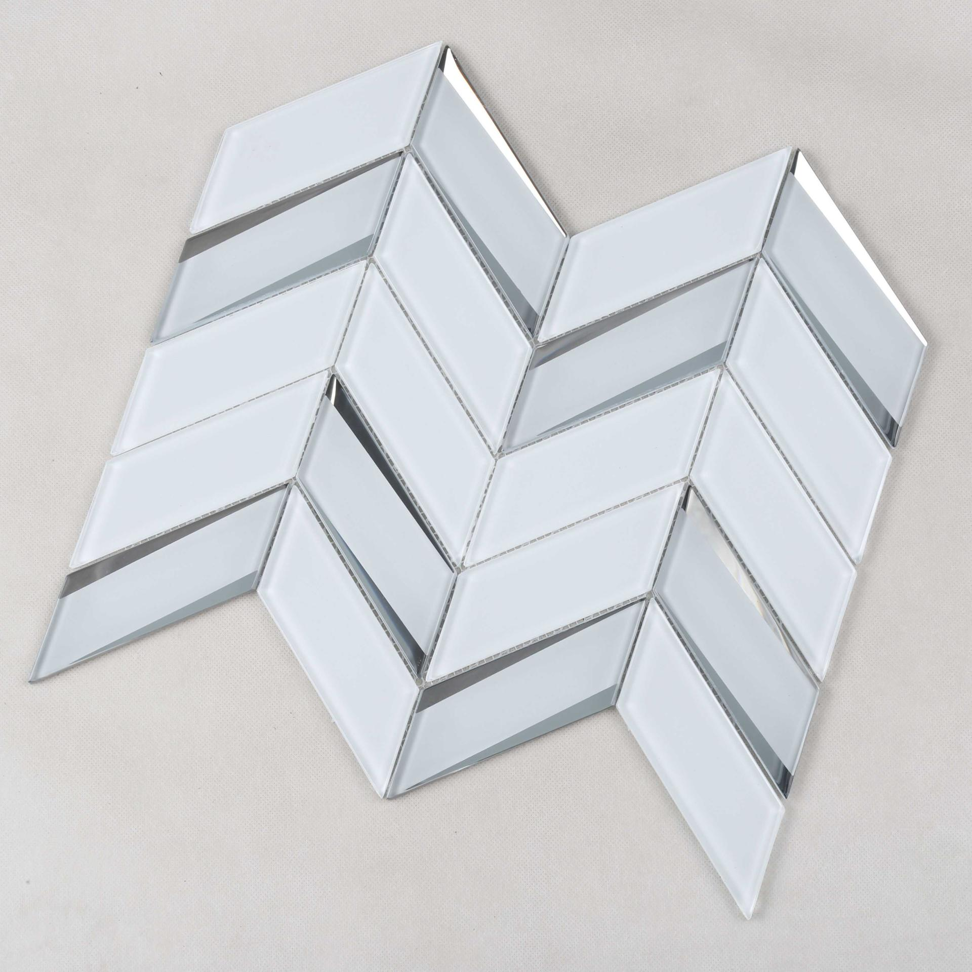 Heng Xing-hexagon tile ,metallic glass mosaic tile | Heng Xing-1