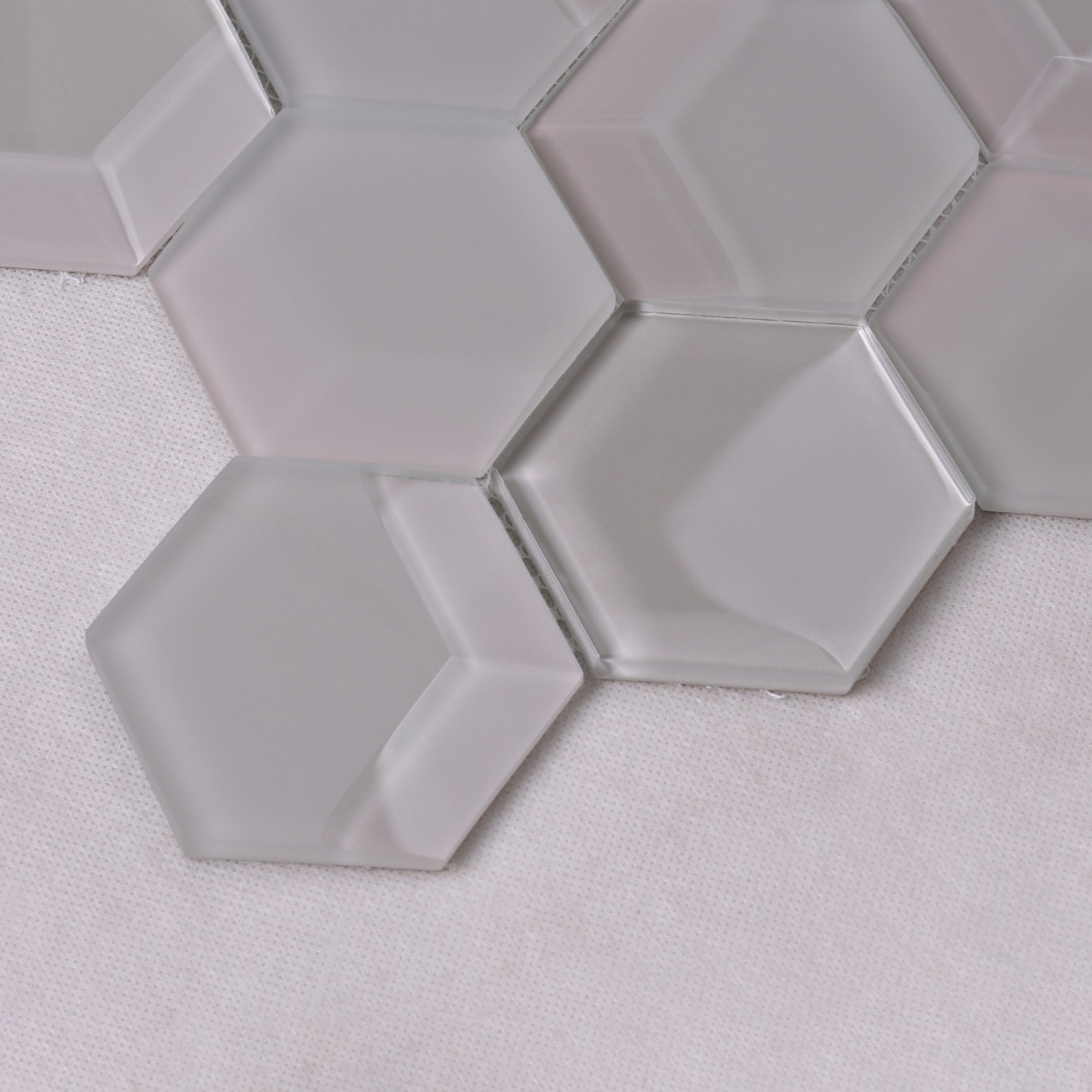 Heng Xing-Oem Green Glass Tile Manufacturer, White Glass Backsplash | Heng Xing-2