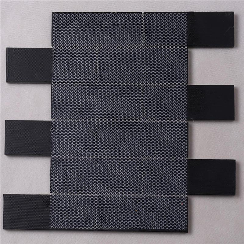 Natural Envionmental Wood Grain Glass Mosaic Tile