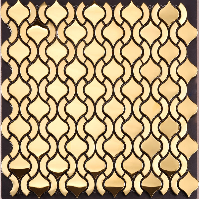 Heng Xing round copper mosaic tiles company for kitchen