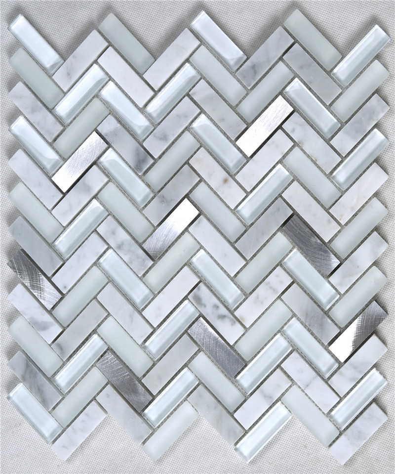 Heng Xing-Custom Glass Mosaic Tile Manufacturer, Glass Backsplashes For Kitchens