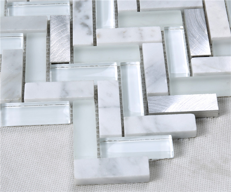 Heng Xing-Custom Glass Mosaic Tile Manufacturer, Glass Backsplashes For Kitchens-2