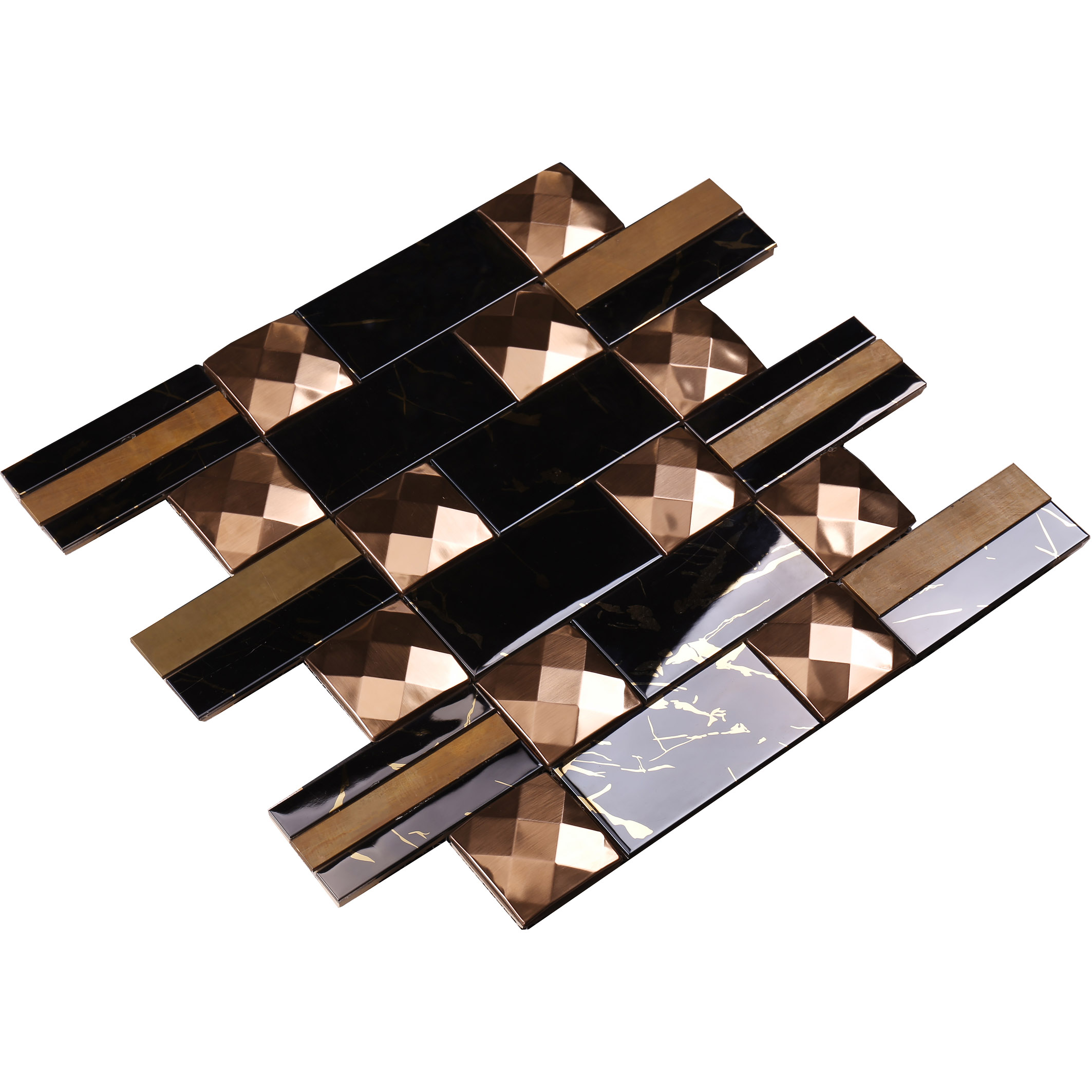 Top mosaic tiles online brown series for bathroom-Glass Mosaic Tile- Stone Mosaic Tile- Pool Mosaic -1