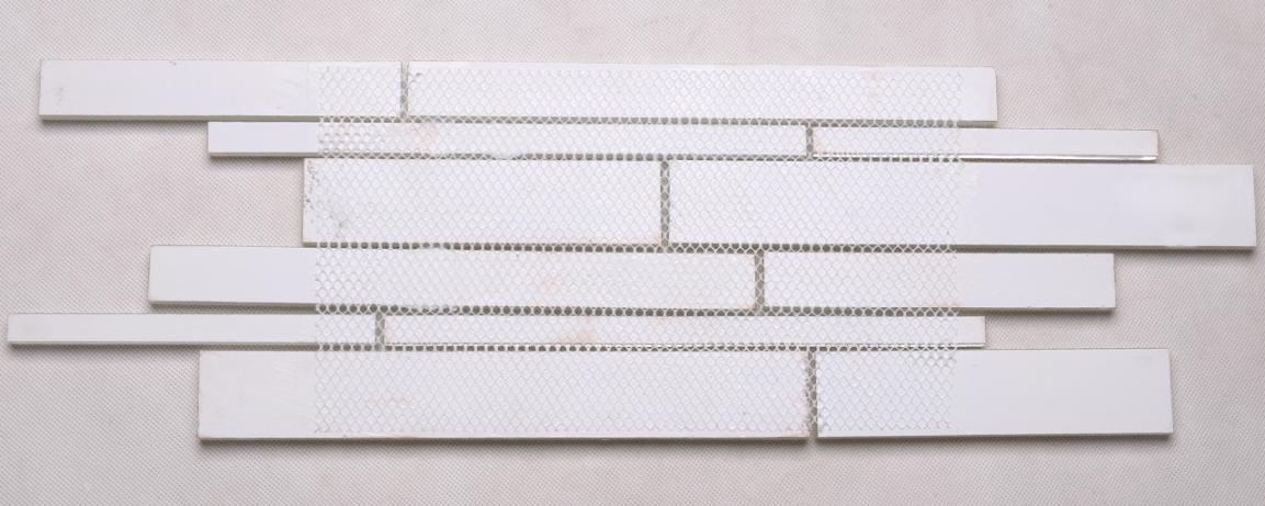 Heng Xing square glass mosaic backsplash wholesale for villa-5
