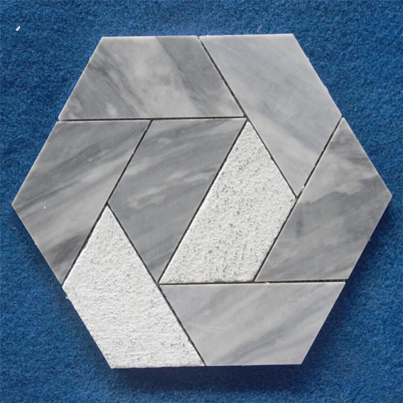 Fashion Natural Marble Stone Mosaic Tile