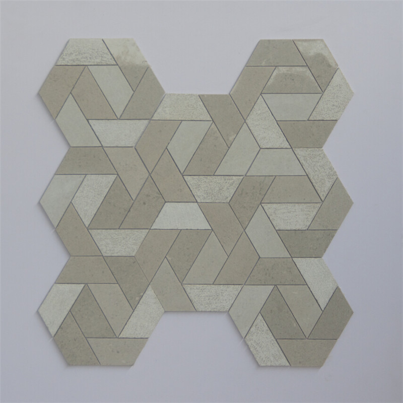2x2 slate mosaic tile floor Suppliers for living room-5