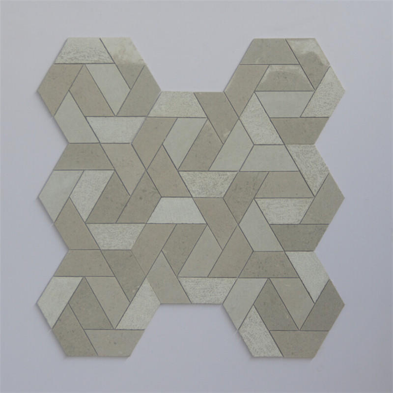 3x3 marble mosaic tile factory for living room