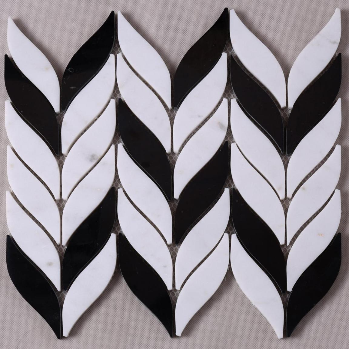 Heng Xing-Custom Marble Backsplash Manufacturer, Pebble Stone Mosaic Tile   Heng Xing