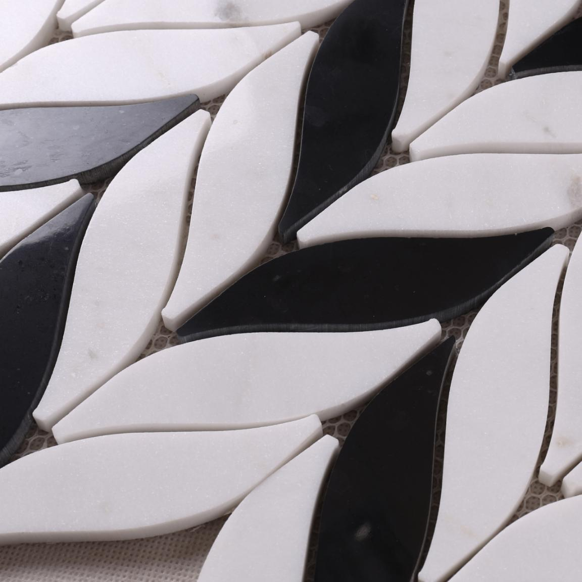 Heng Xing Custom glass stone mosaic manufacturers for bathroom-4