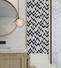Heng Xing Custom glass stone mosaic manufacturers for bathroom