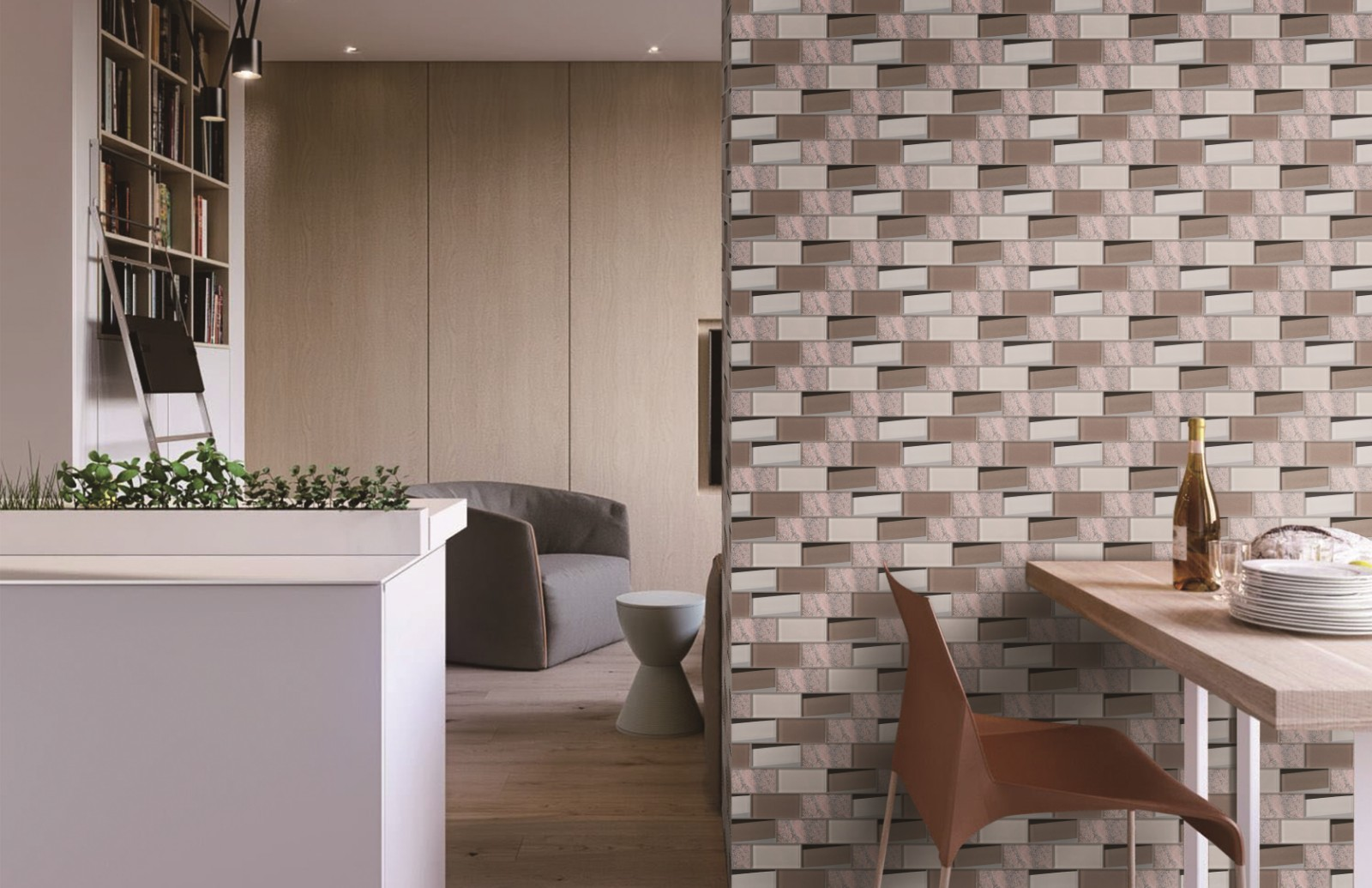 Heng Xing-Oem Hexagon Tile Manufacturer, Herringbone Backsplash | Heng Xing-7