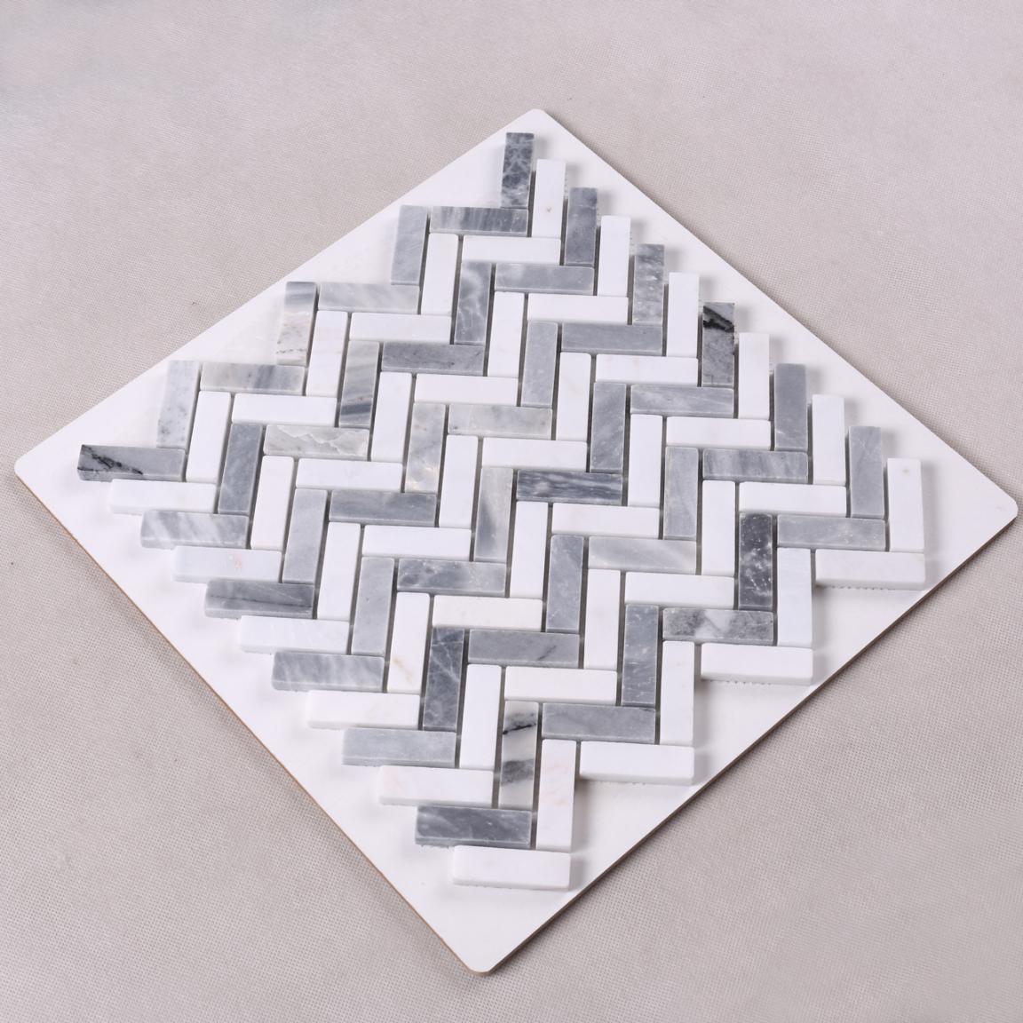 Heng Xing-Stone Mosaic Tile Manufacturer, Carrara Marble Mosaic Tile | Heng Xing-2
