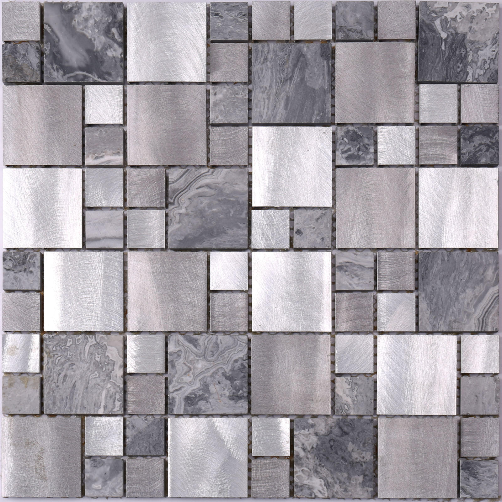 Wholesale mosaic tile sheets black Supply for villa-2