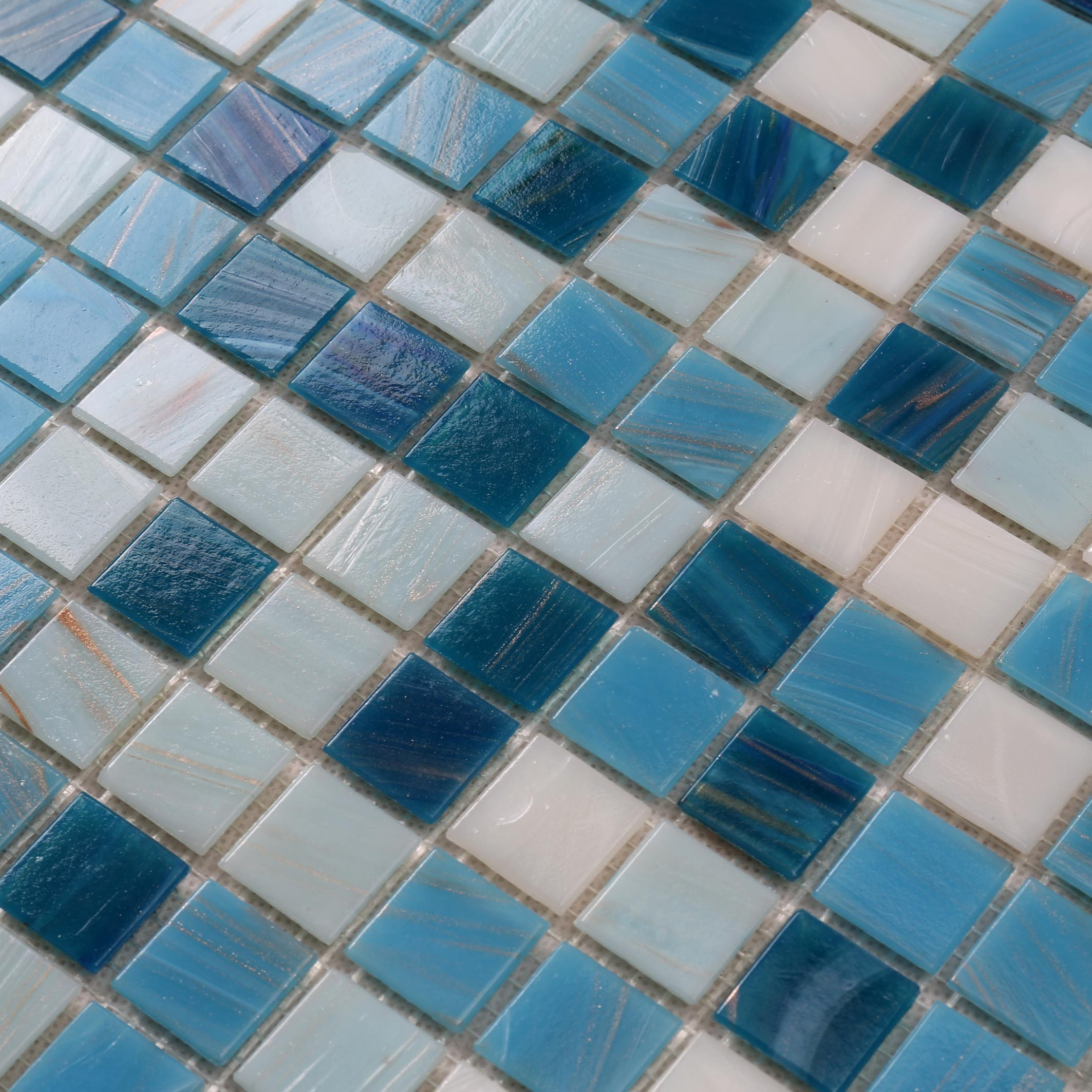 Heng Xing blue pool mosaics Supply for spa-4