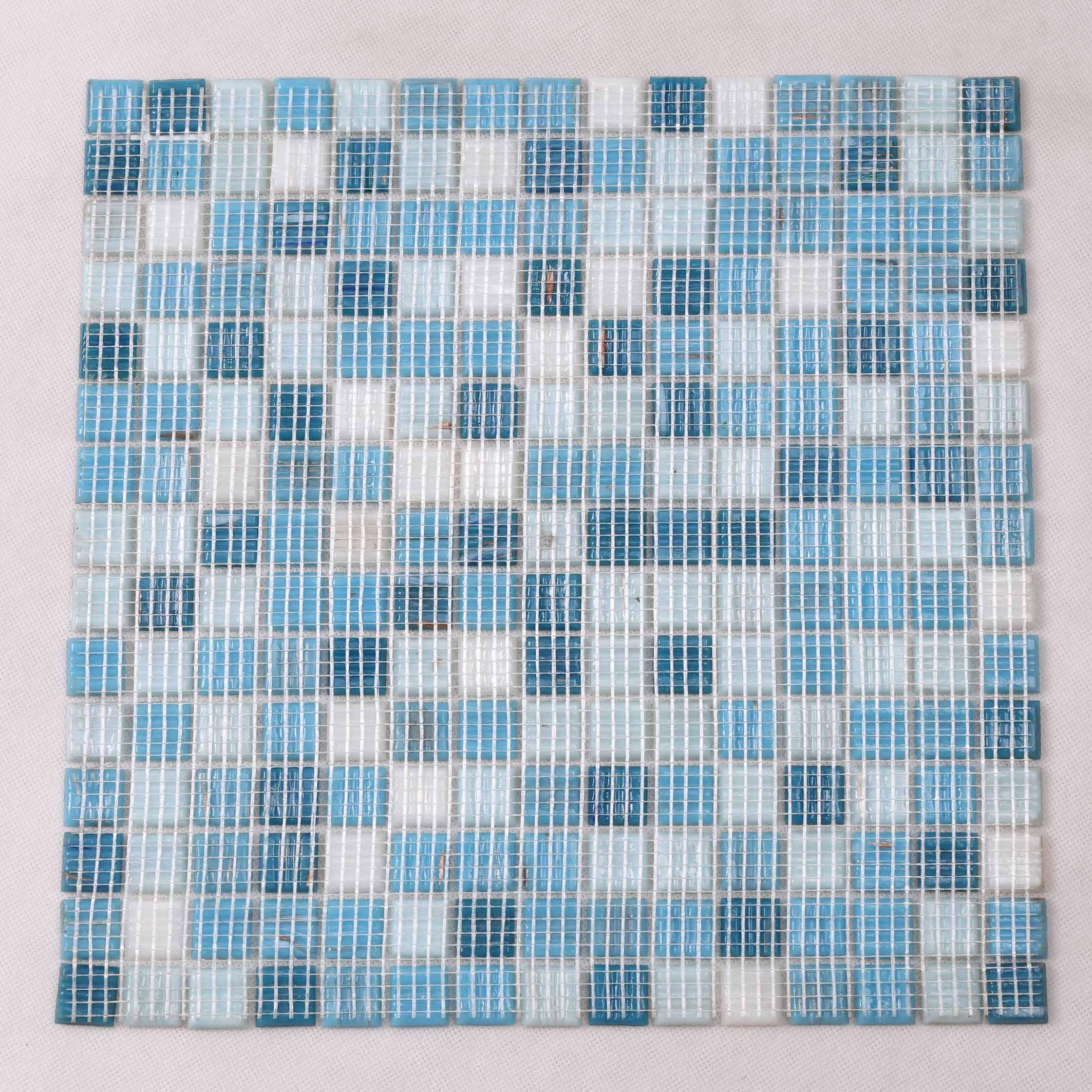 Heng Xing blue pool mosaics Supply for spa-5