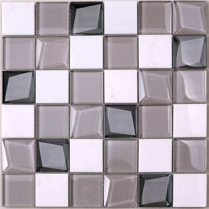 Heng Xing-White Glass Tile, Glass Wall Tiles For Kitchen Price List | Heng Xing-1