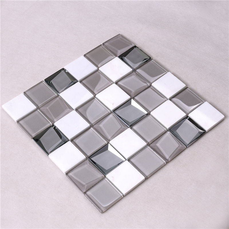 Heng Xing-White Glass Tile, Glass Wall Tiles For Kitchen Price List | Heng Xing-2
