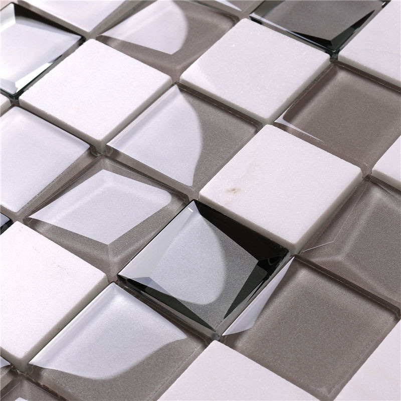 Heng Xing-White Glass Tile, Glass Wall Tiles For Kitchen Price List | Heng Xing-3