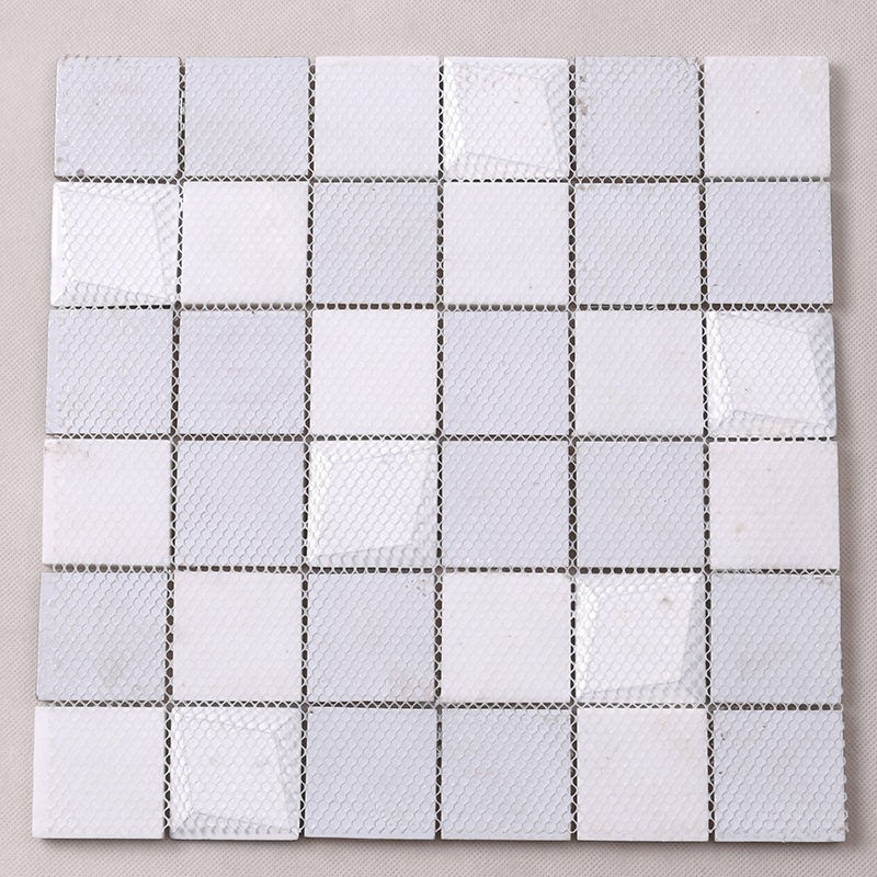 Heng Xing-White Glass Tile, Glass Wall Tiles For Kitchen Price List | Heng Xing-4
