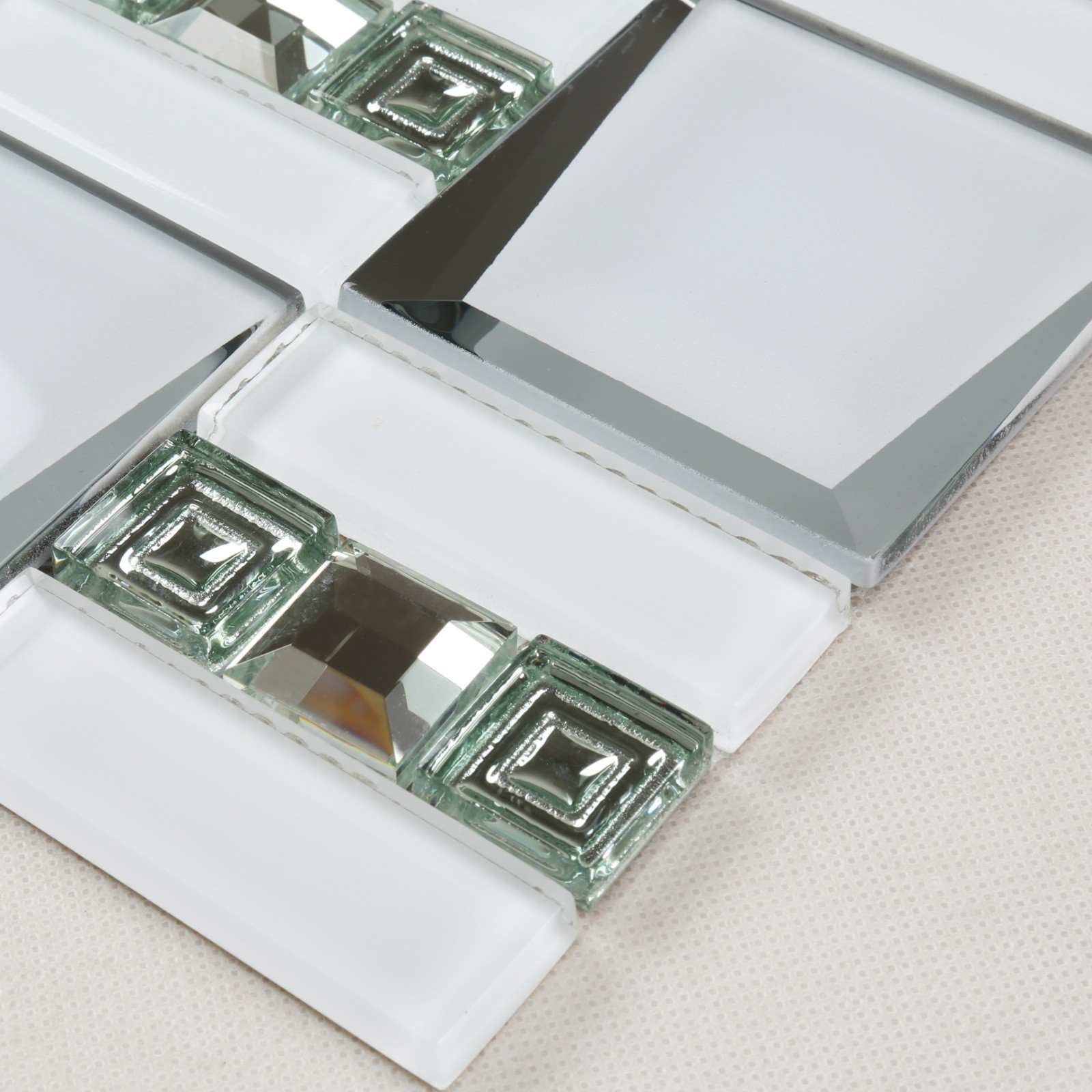 Heng Xing beveled glass wall tiles for kitchen tiles for hotel-4