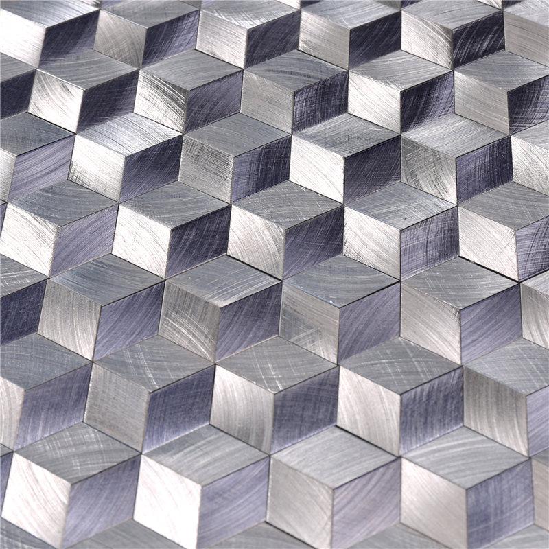 video-durable bisazza glass mosaic tiles Carrara customized for backsplash-Heng Xing-img-1
