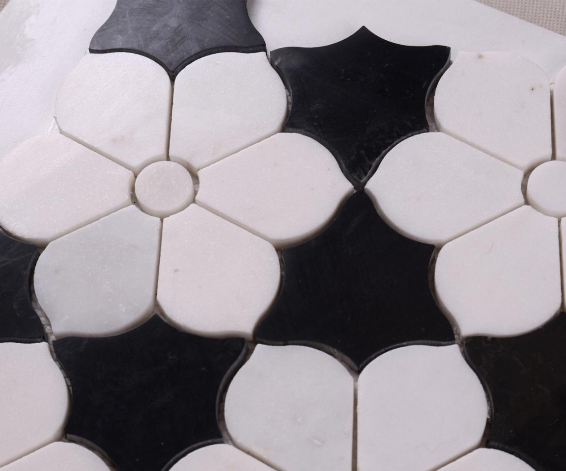 news-Heng Xing-Heng Xing black glass mosaic manufacturer for backsplash-img