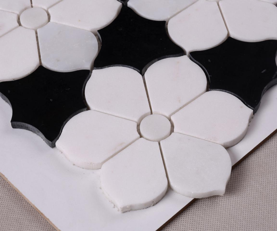 marble wood mosaic tile stone manufacturers for hotel