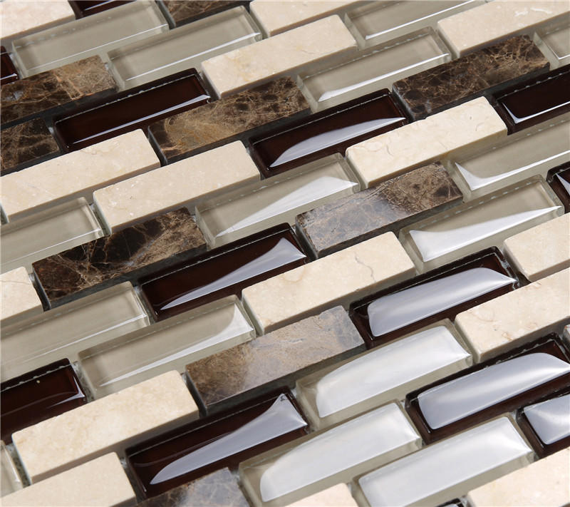 Heng Xing-Glass Subway Tile, Glass Mosaic Tile Backsplash Manufacturer-2