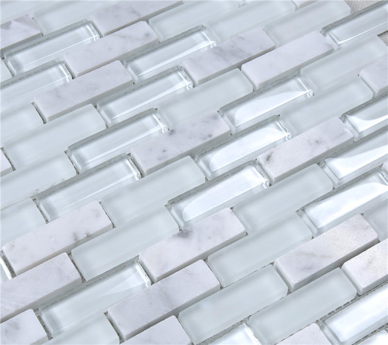 Heng Xing beveling wholesale backsplash glass tile factory price for hotel-3