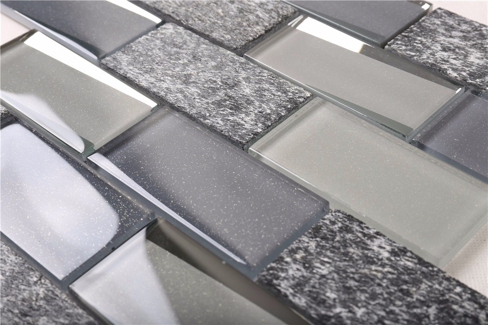Heng Xing-Oem Oceanside Glass Tile Manufacturer, Herringbone Backsplash | Heng Xing-2