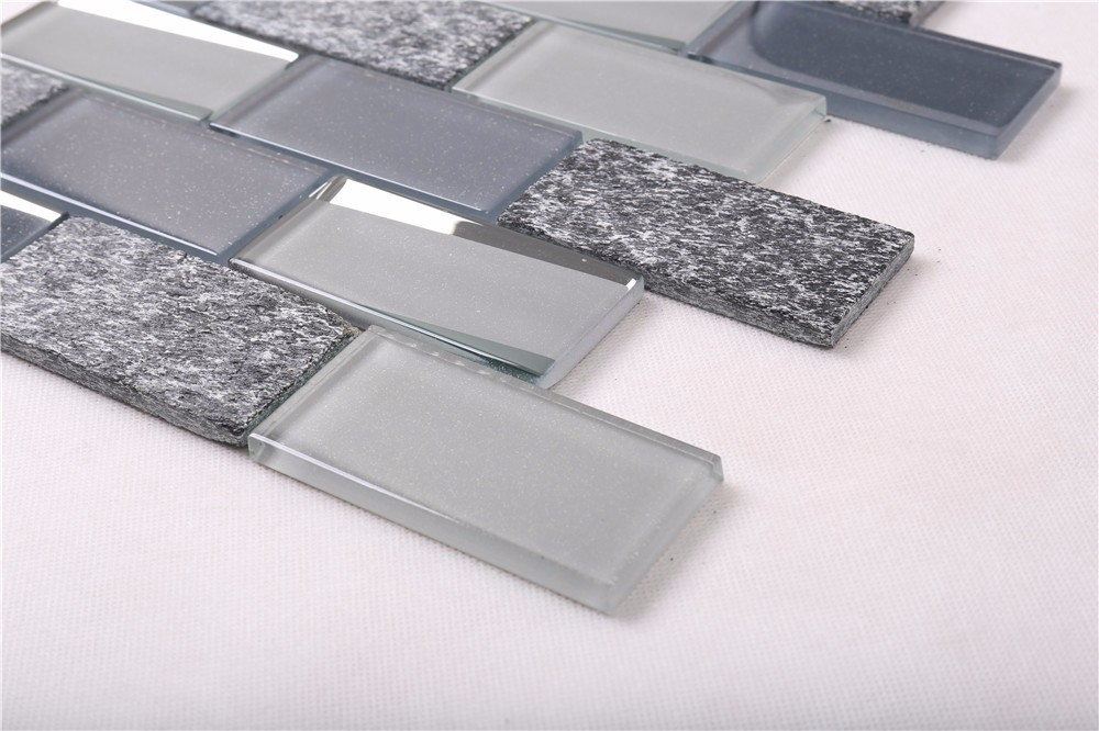 Heng Xing-Oem Oceanside Glass Tile Manufacturer, Herringbone Backsplash | Heng Xing-3