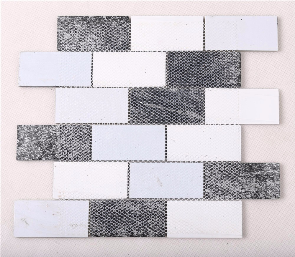 Heng Xing-Oem Oceanside Glass Tile Manufacturer, Herringbone Backsplash | Heng Xing-4