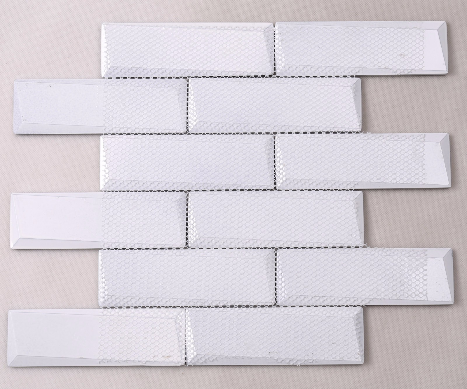 Heng Xing-Glass Metal Tile Factory, White Kitchen Backsplash | Heng Xing-4