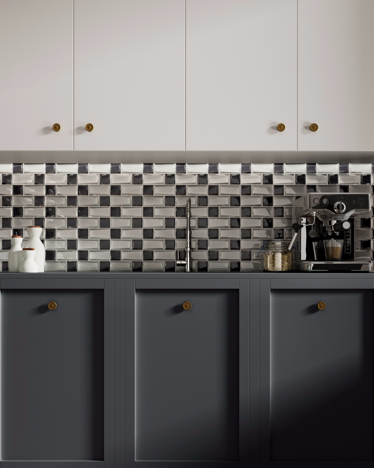 Heng Xing-Glass Metal Tile Factory, White Kitchen Backsplash | Heng Xing-7